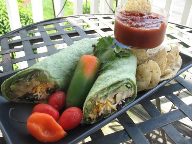 Recipe-Sassy Turkey Wraps by Sweet Mama