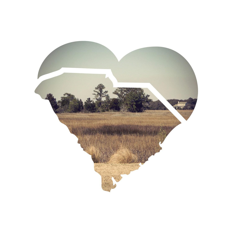 I HEART SC - Pluff Love print - Studioeighty