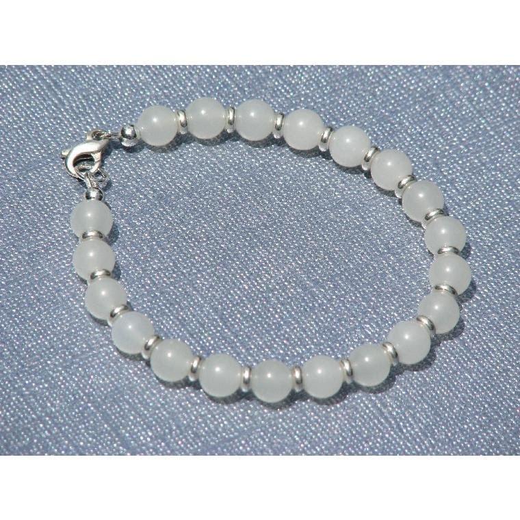 Snow Jade Bracelet
