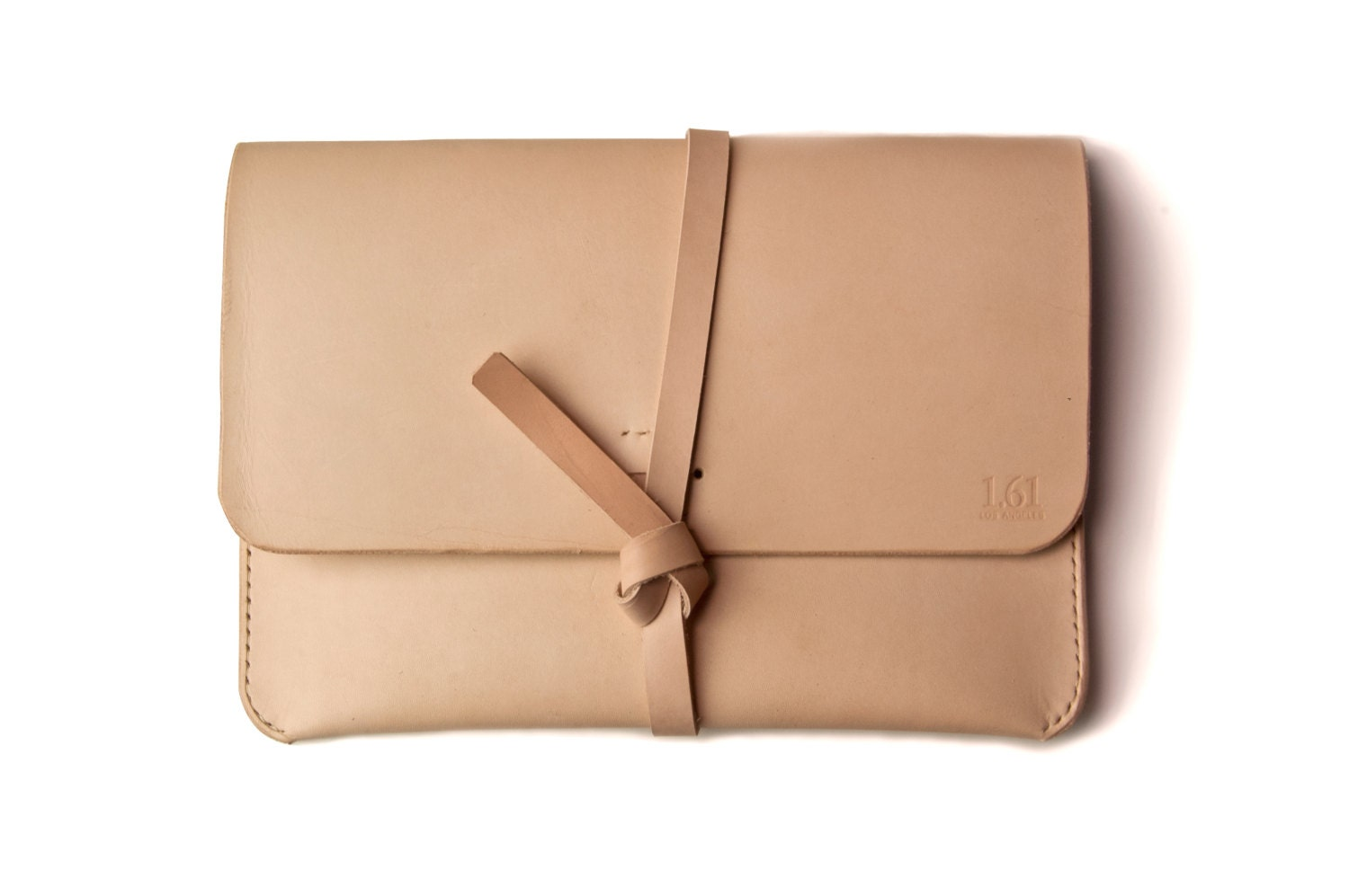 Leather iPad Case iPad Portfolio - Leather, Hand-Stitched, Top Grade