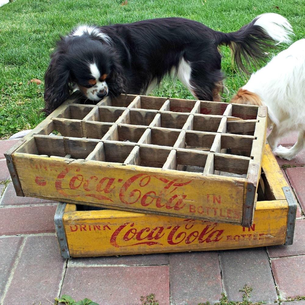 Coca Cola Crates Vintage