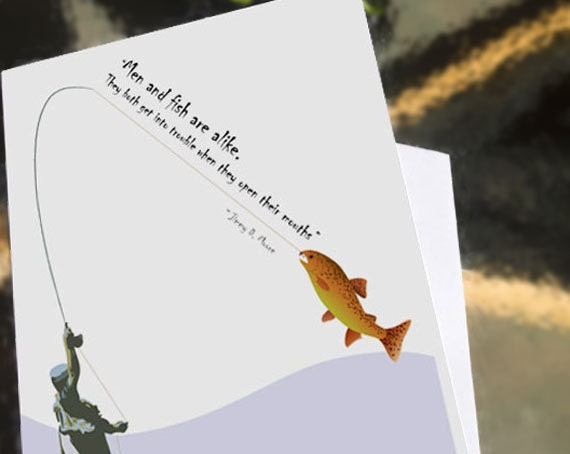 Birthday quotes funny fishing quotesgram for Fishing birthday cards