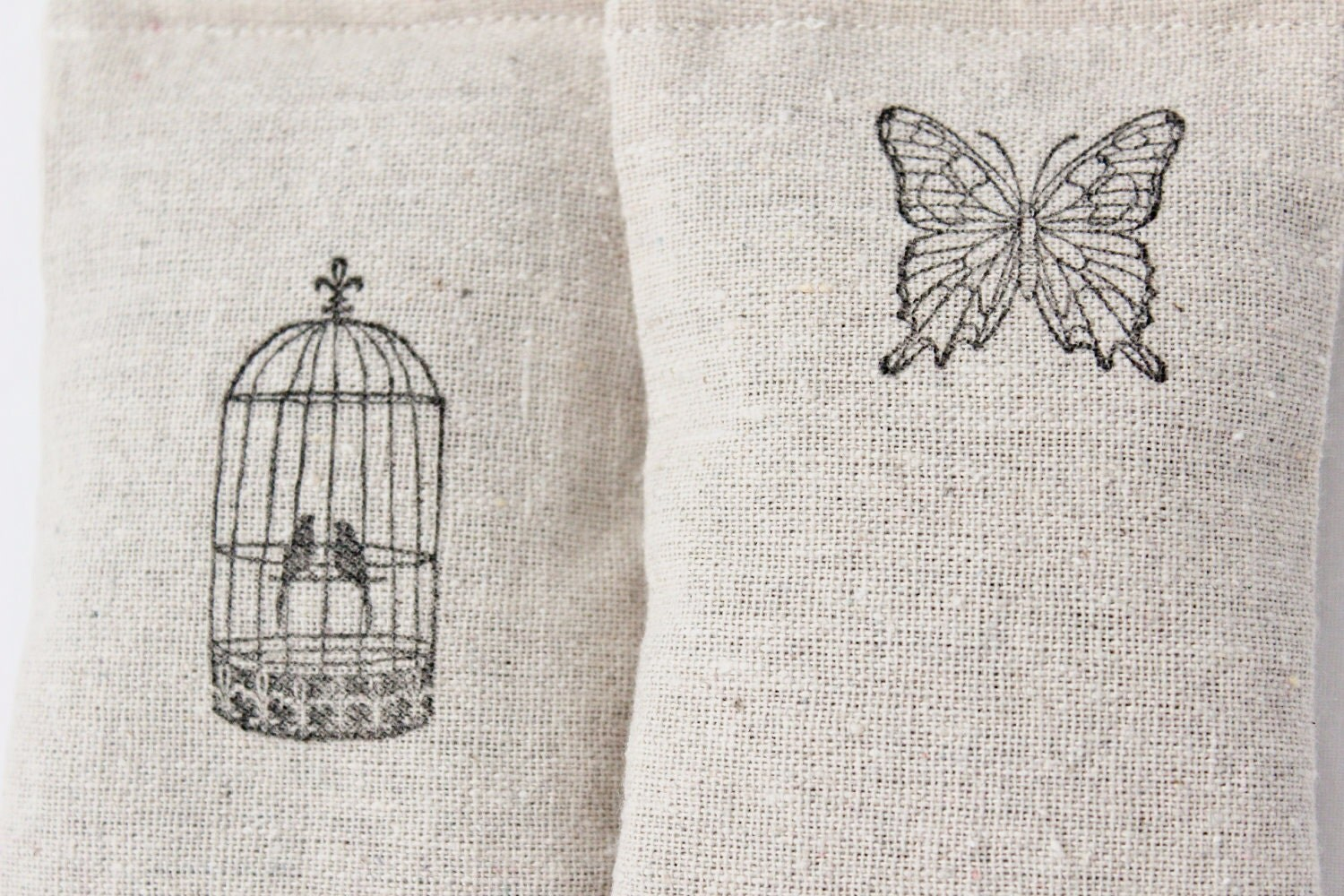 Lavender Sachets, Nature Set, Butterfly & Birds
