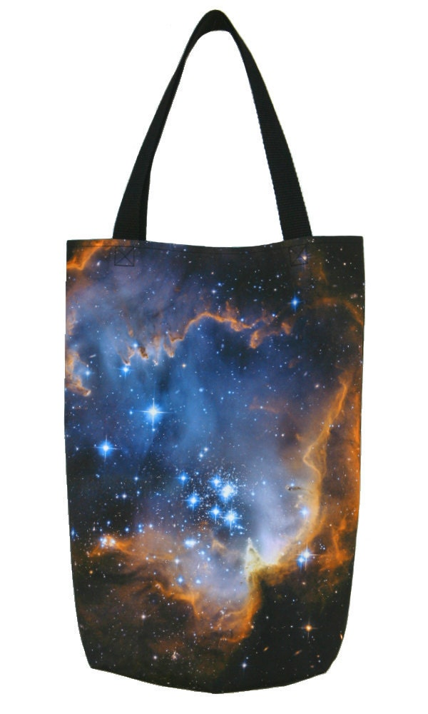 COTTON TOTE BAG Infant Stars Astronomy Photograph