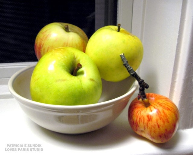 Autumn Apples Photo, 10 x 8, Fine Art Photograph
