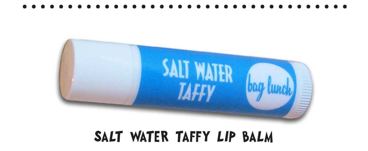 Salt Water Taffy Lip Balm by Bag Lunch