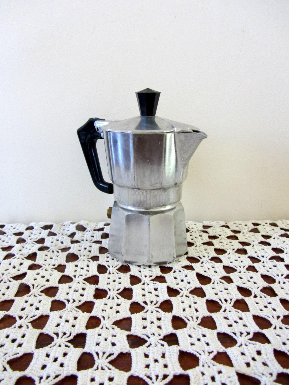 Vintage Expresso Coffee Maker Stove Top Moka Pot 2 Cup - PoitouBrocante