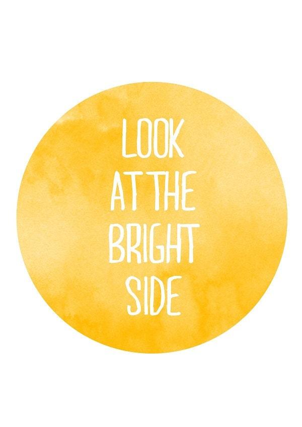 Bright side Print