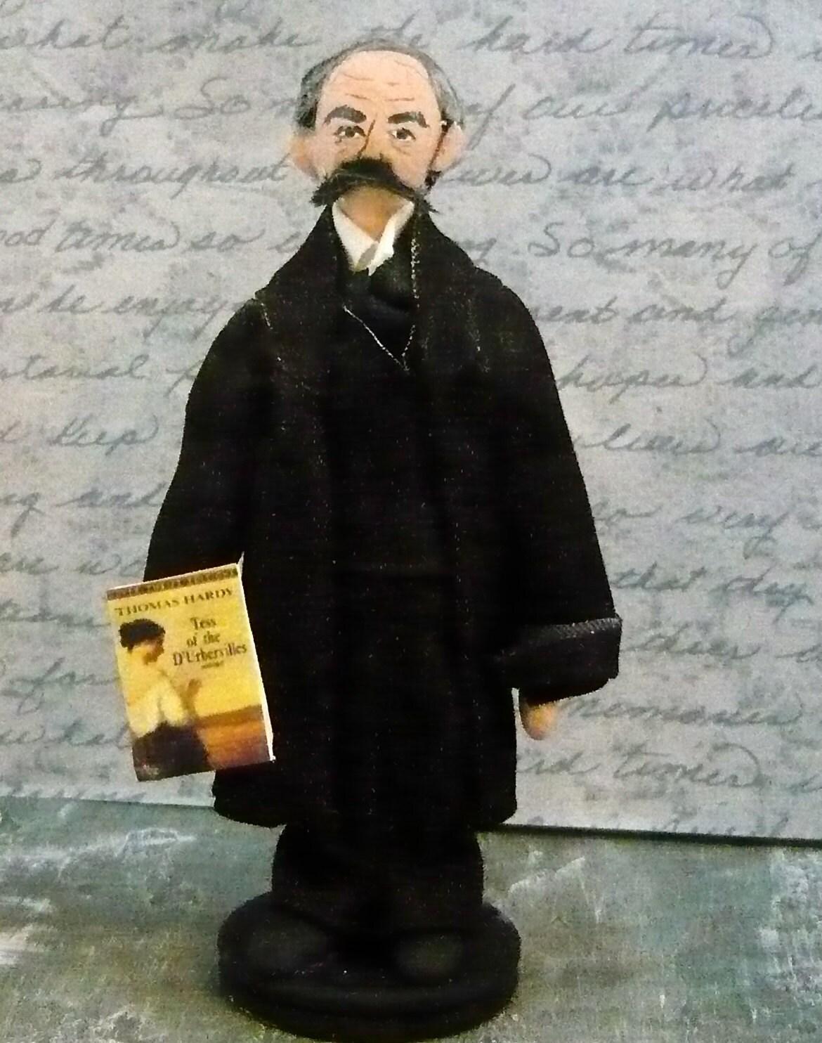 Writer Doll Thomas Hardy English Author Miniature