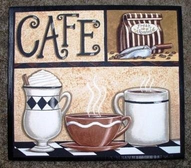 Kitchen Signs Coffee Espresso Bold Kitchen Wall Sign