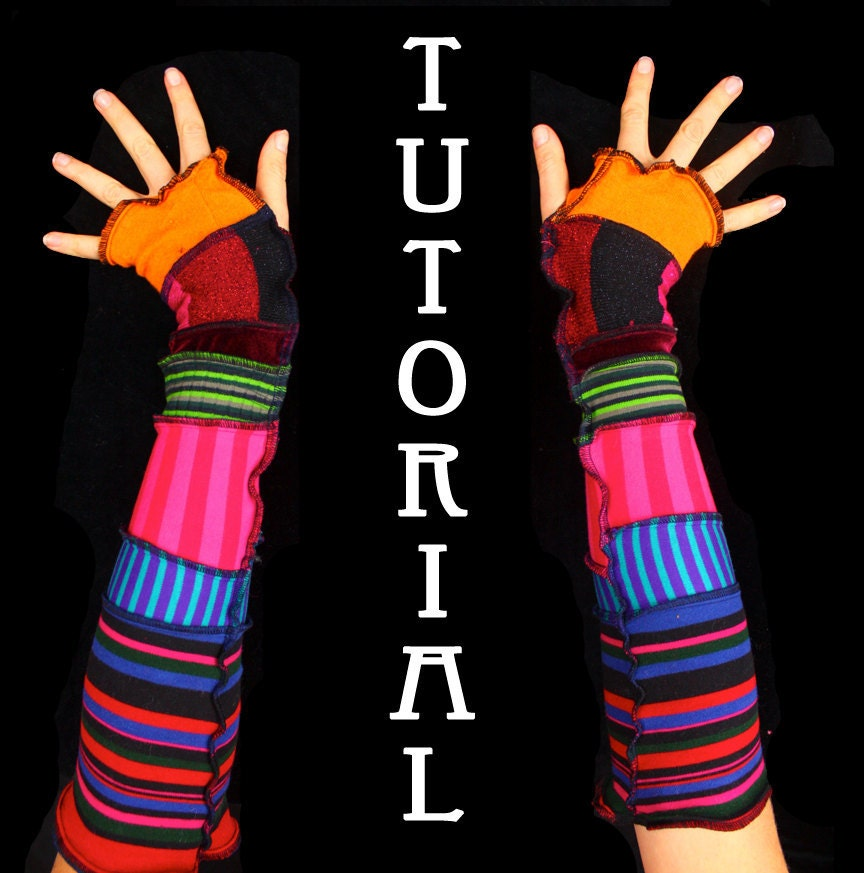 Arm Warmer Tutorial - DIY guide
