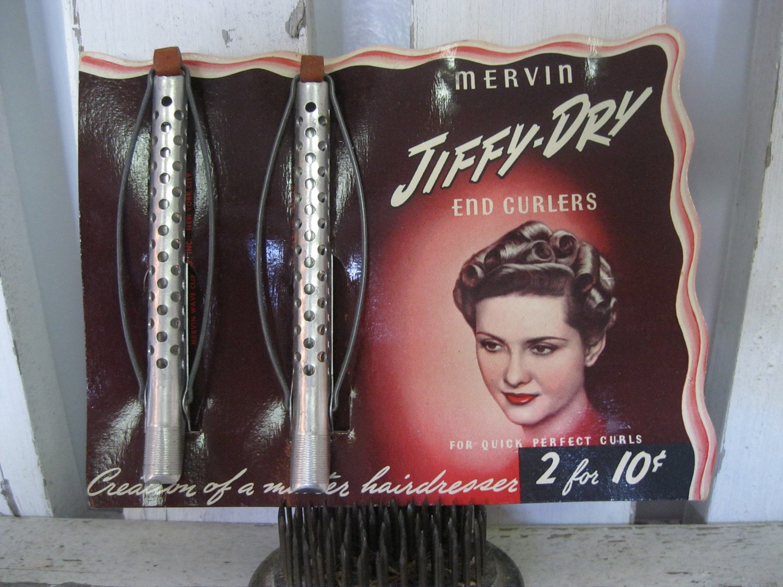 Amazing Vintage Hair Curlers