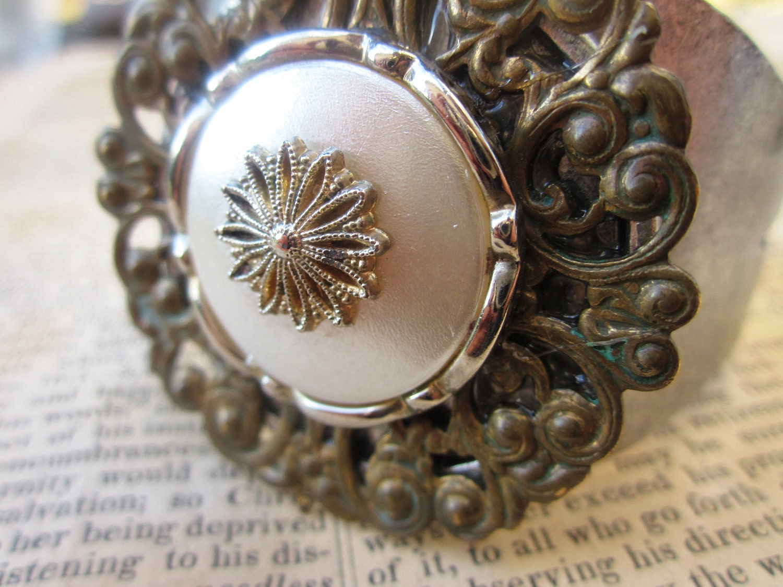Victorian Industrial Cuff Bracelet
