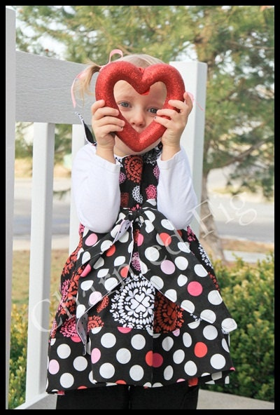 Valentines Day Dress - Made to Order 2T-6