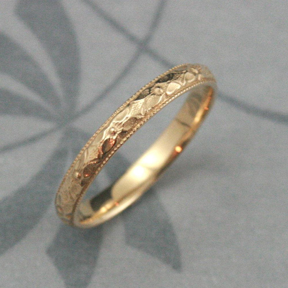 What band should I pair with this vintage estate e ring Weddingbee