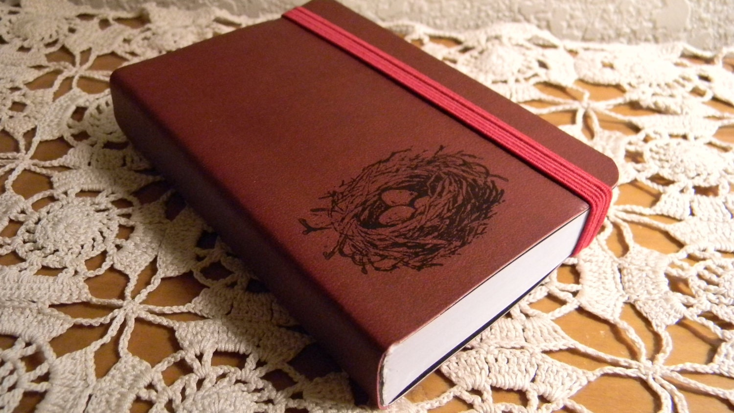 Birds Nest Pocket Journal Sketch Book Pad
