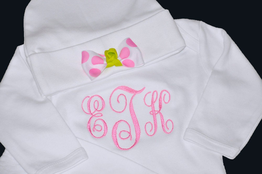 monogrammed newborn clothes image search results