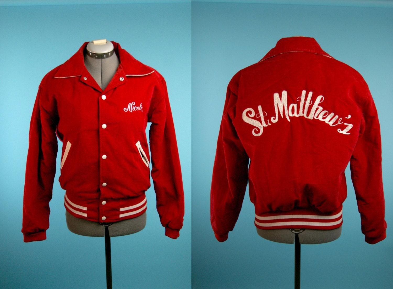 vintage letterman varsity jacket