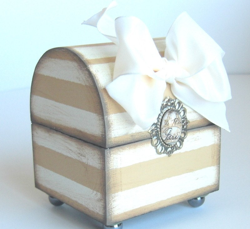 Брелок Box Mocha Полосатый