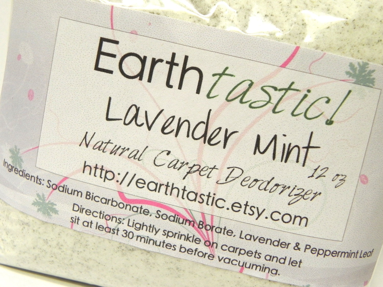 Lavender Mint Carpet Deodorizer - earthtastic