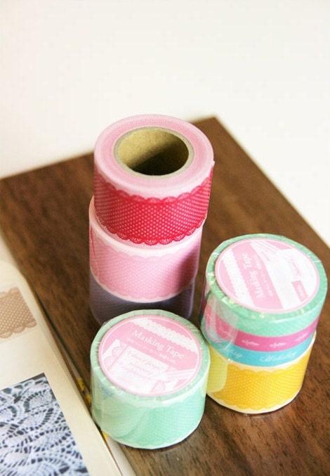 Postage Transparent Deco Sticker Tape - Maiden 35mm roll