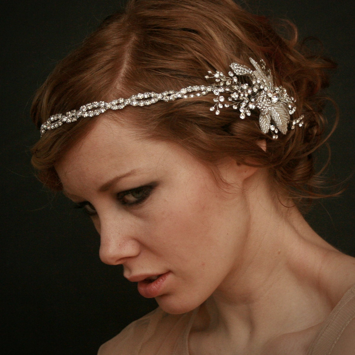 art deco wedding accessory, gatsby wedding