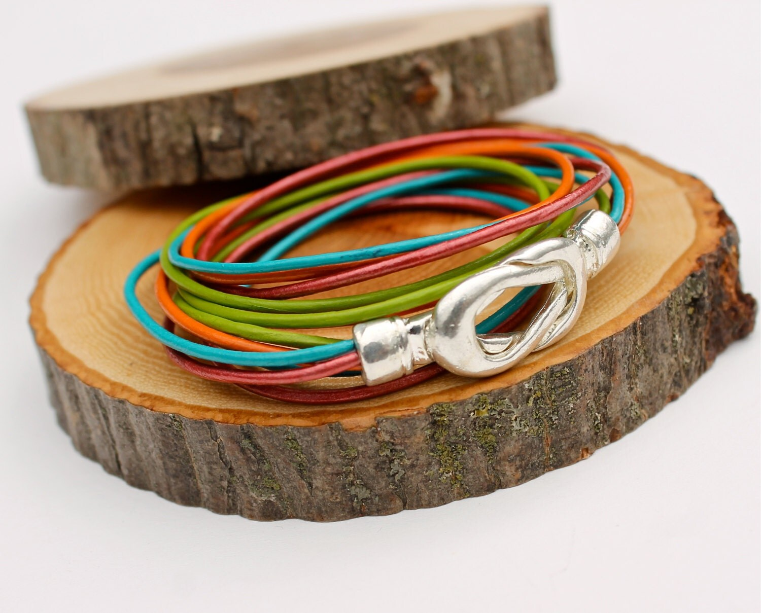 Cinco De Mayo Wrap Bracelet Infinity Knot Bangle Mother's Day Gift Amy Fine Design