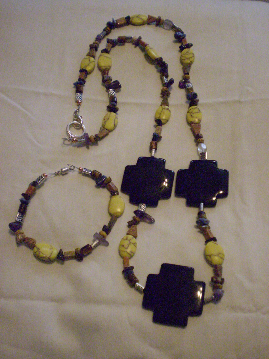 Santa Fe Sunset Necklace and Bracelet