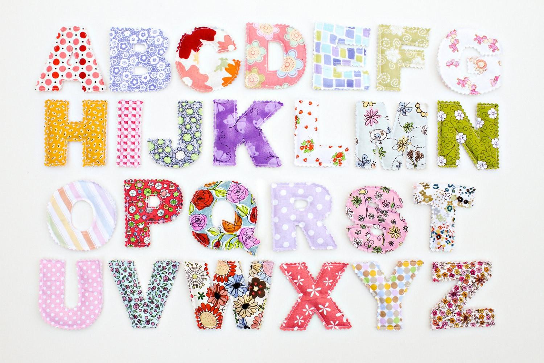 Petitevanou - Letras decorativas infantiles ...