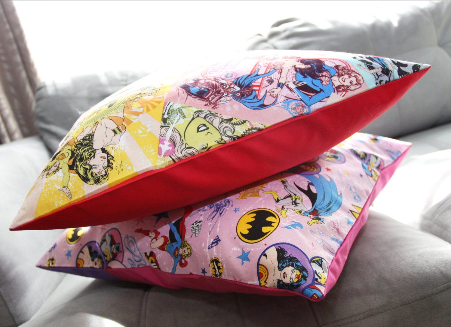 Wonder Woman Set of 2 Pillows