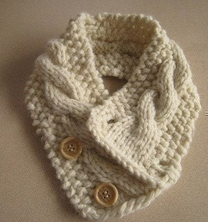 Neck Warmer - Loom Knitting