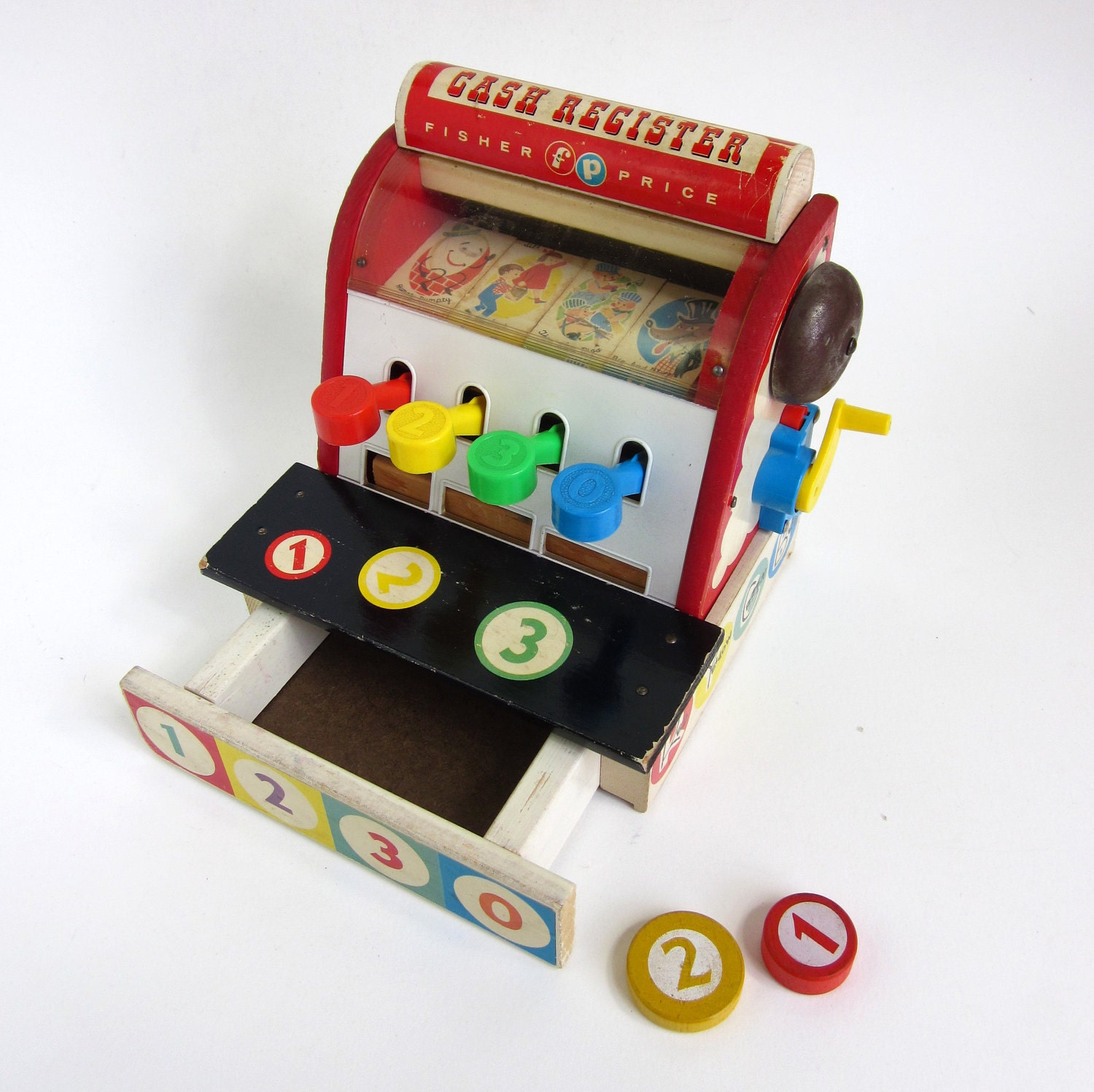 Fisher Price Cash Register 60s / Great Condition