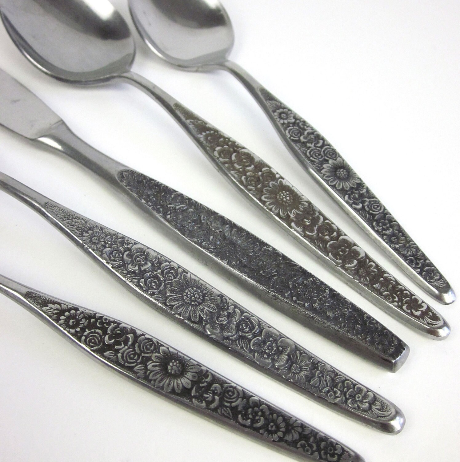 Vintage Riviera 40 Pc Stainless Flatware Set / by AttysVintage