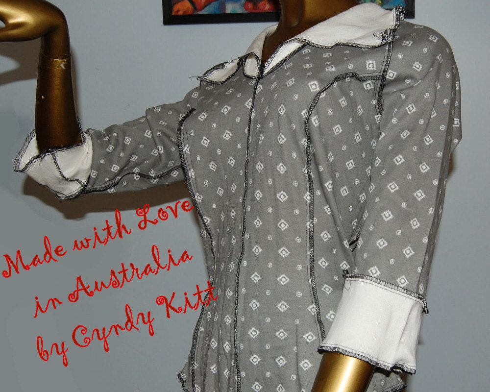 Deconstructed Frenchie Body Shirt, one of a kind