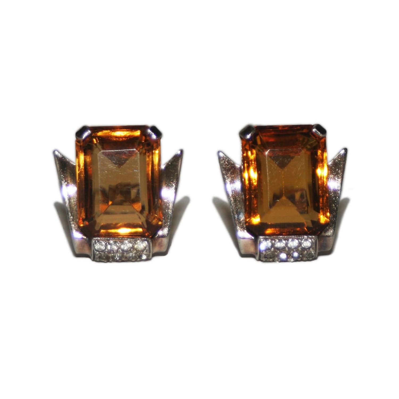 Vintage Mazer Bros Earrings