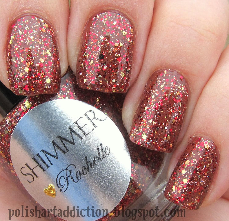 Shimmer Nail Polish - Rochelle