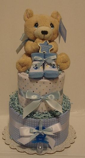 Beary Cute Diaper Cake