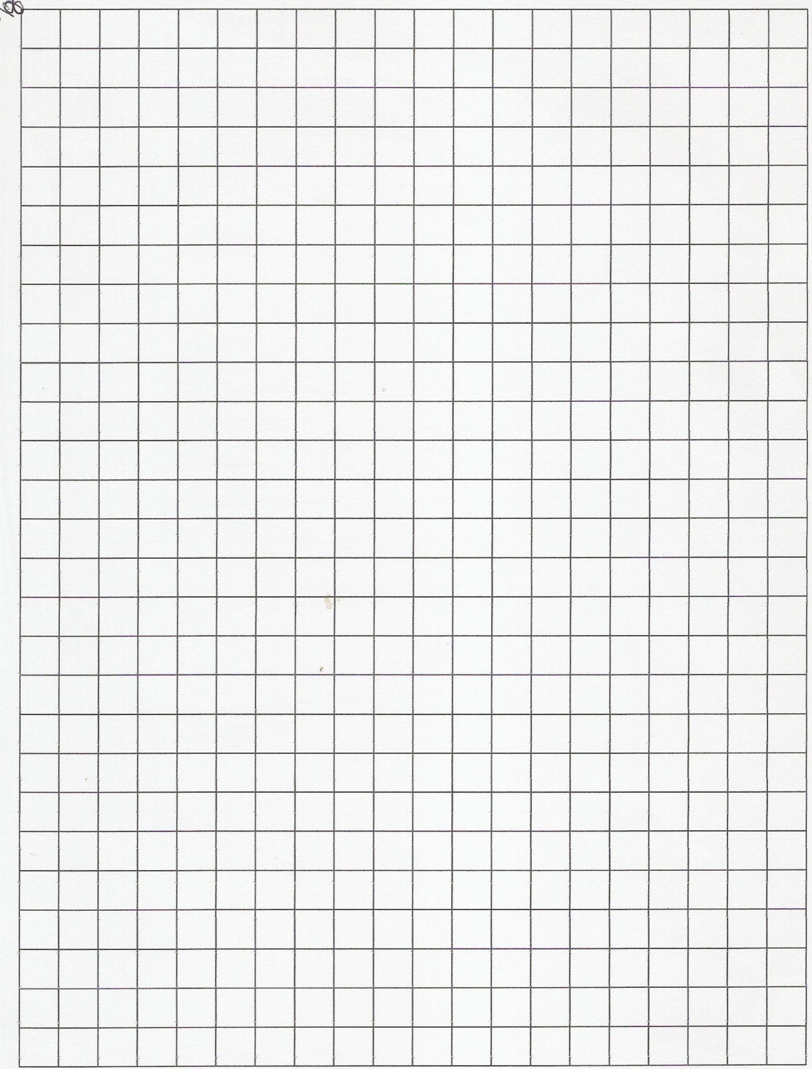 The 1/8 Inch Graph Paper (A) Graph Paper