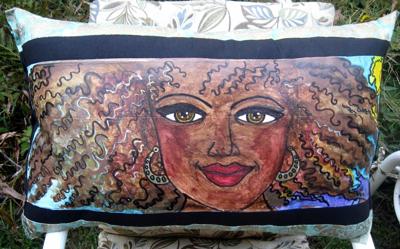 Original Art Pillow