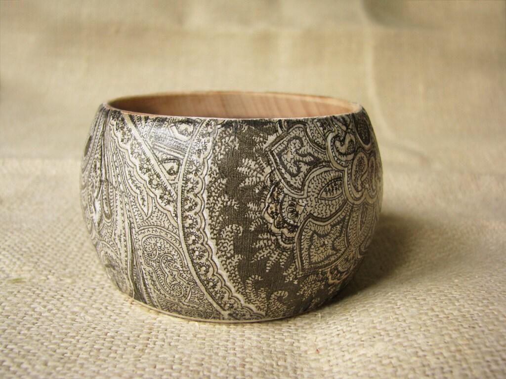 100% Rustic wooden bracelet Summer must have - Grimme