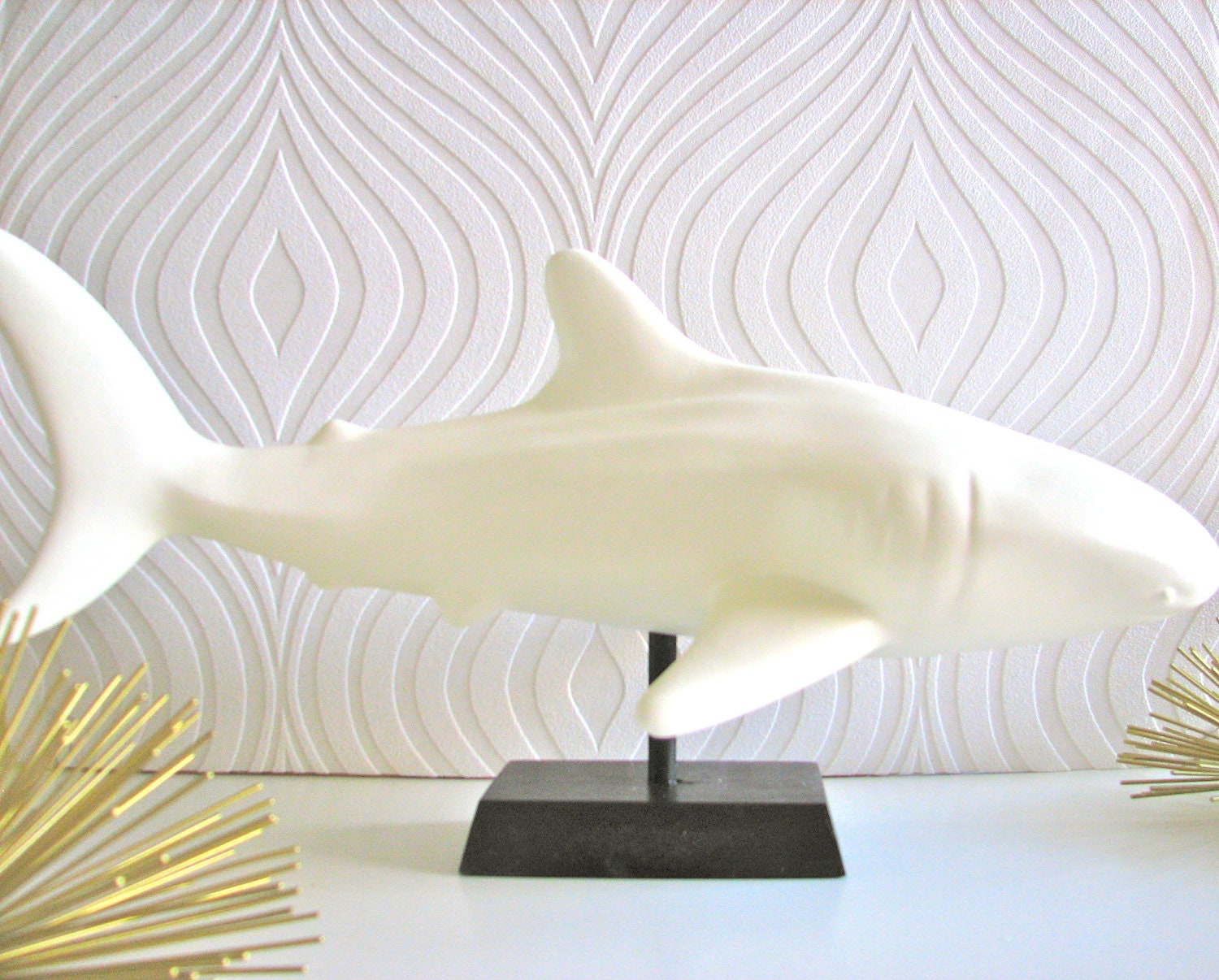 Whale of a Shark Statue with Stand - mahzerandvee