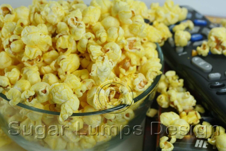 Popcorn and remote 8 X 10