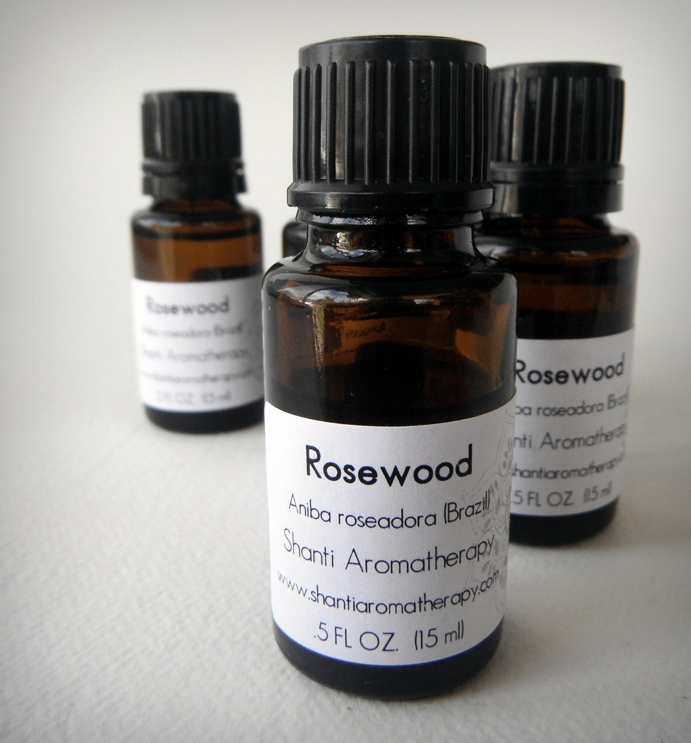 Rosewood Essential Oil - ShantiAromatherapy