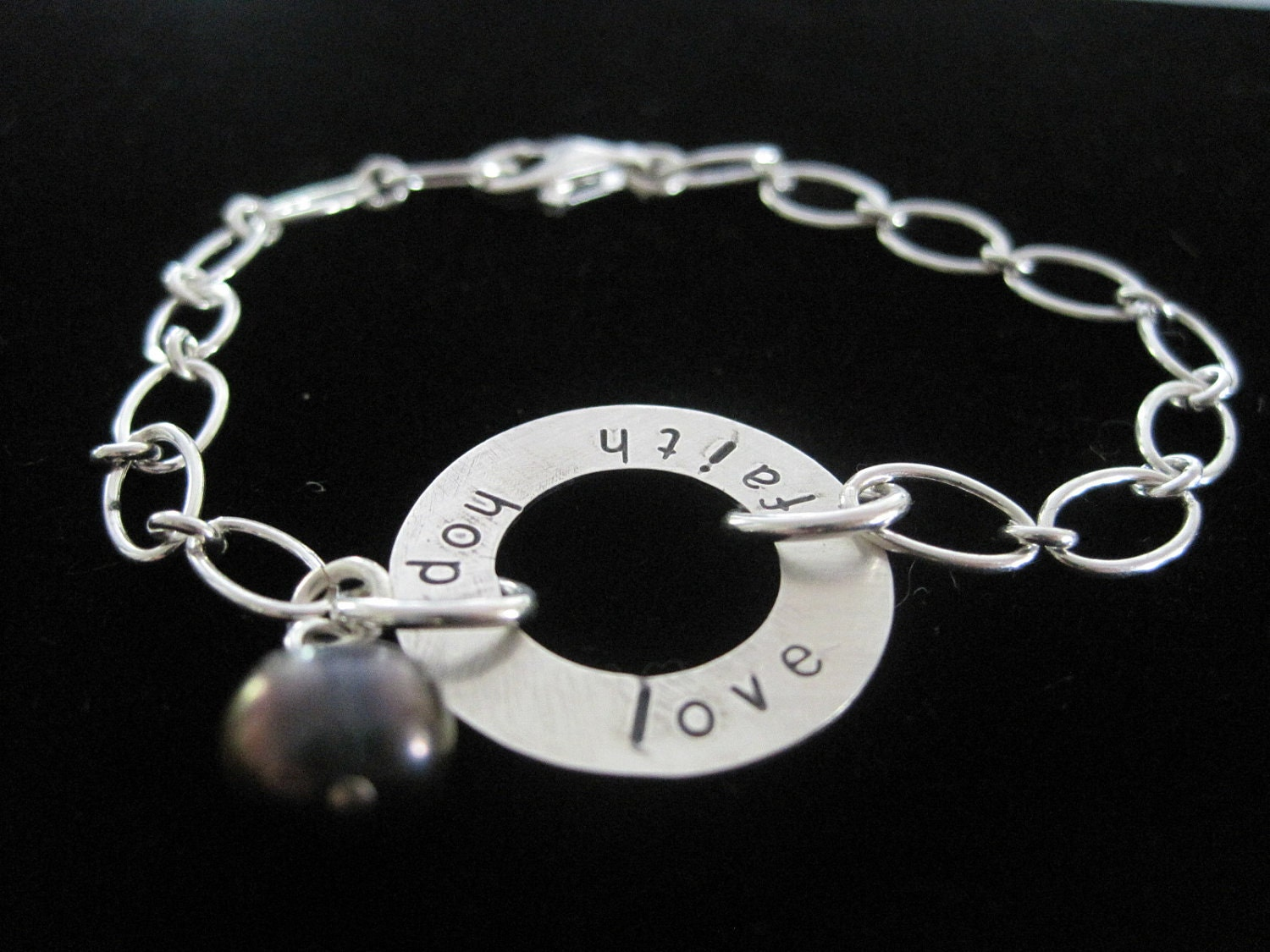 love hope faith bracelet
