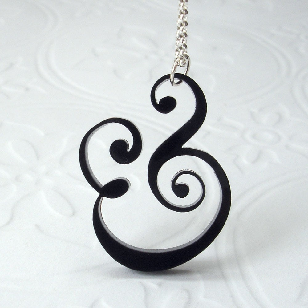 Epershand Ampersand Necklace