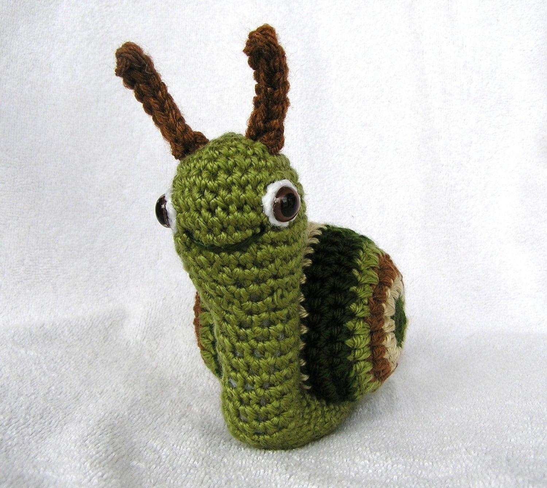 SUZIE SNAIL PDF Crochet Pattern