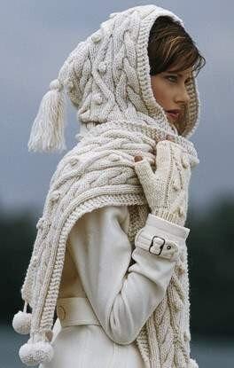 Crochet Hood Knit Pattern Scarf | Crochet Guild