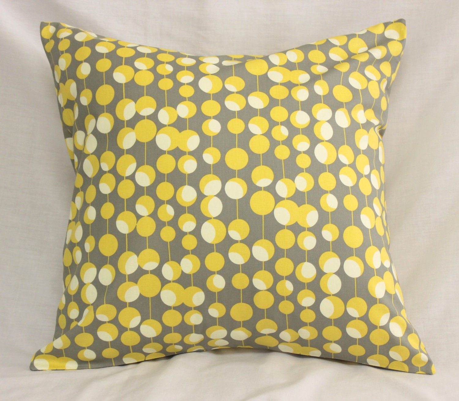 Decorative Pillow Covers Dijon Mustard Yellow & by SewGracious