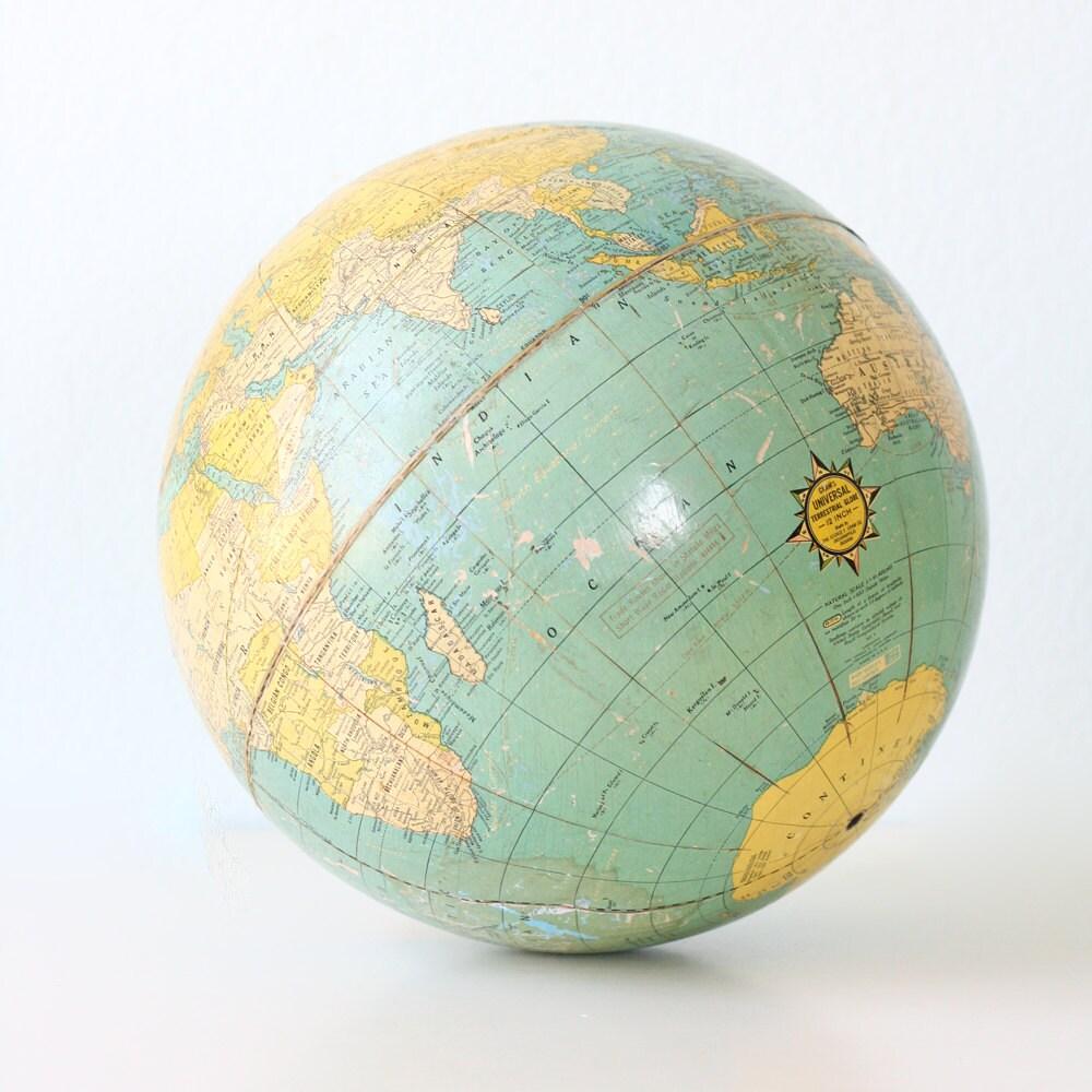 Vintage Cram's Globe
