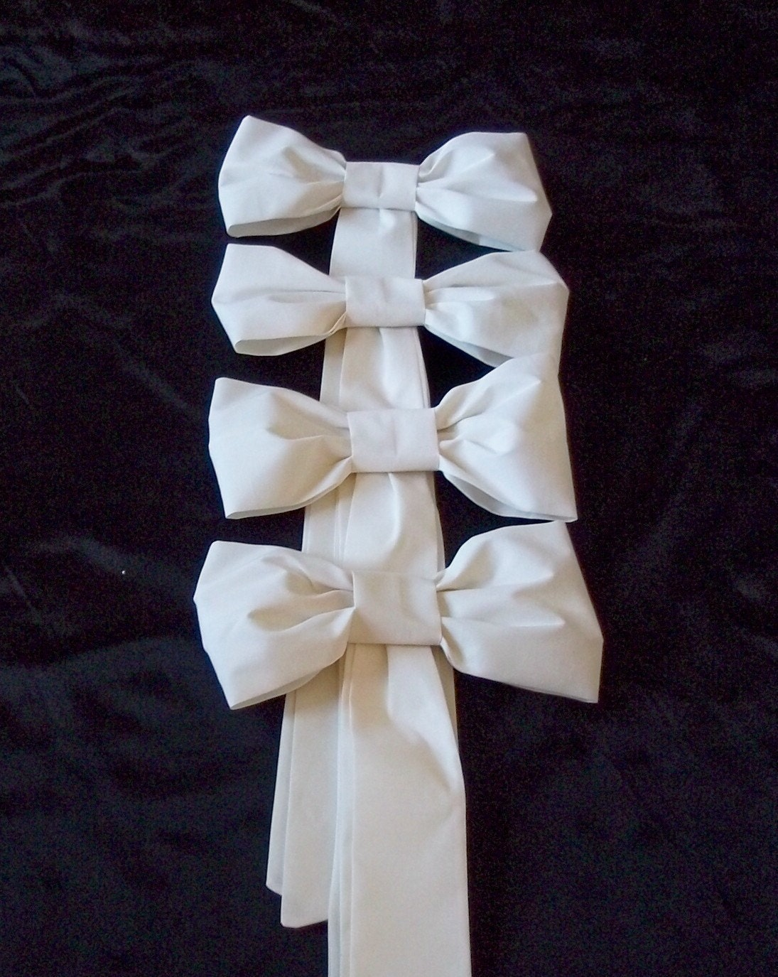 Diy Wedding Bow Decorations : The oh so bridal decoration pew if or craving